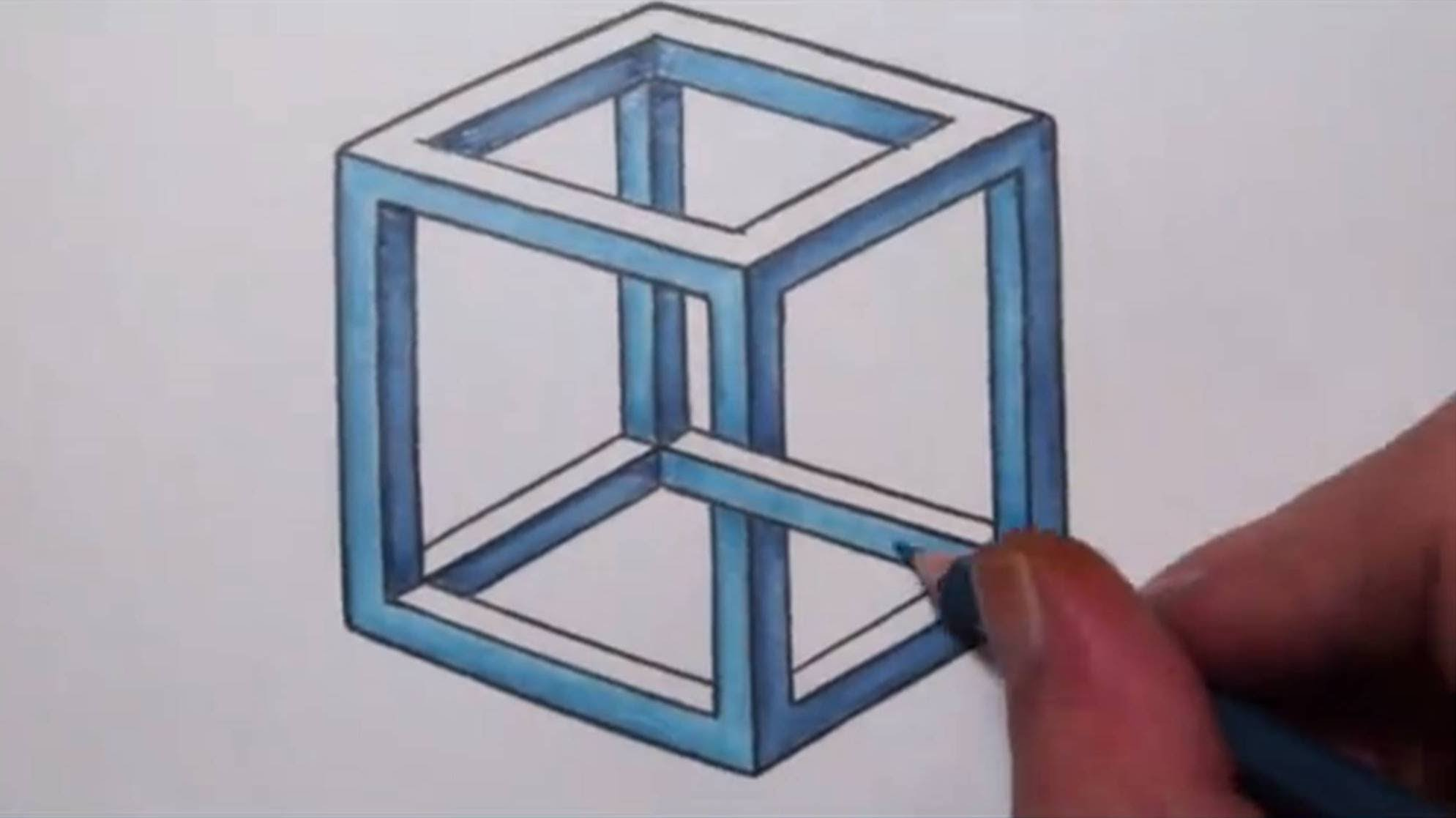 1989x1117 How To Draw An Impossible Cube