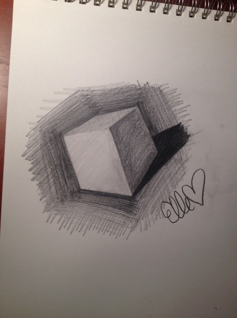 478x640 How To Draw A Cube