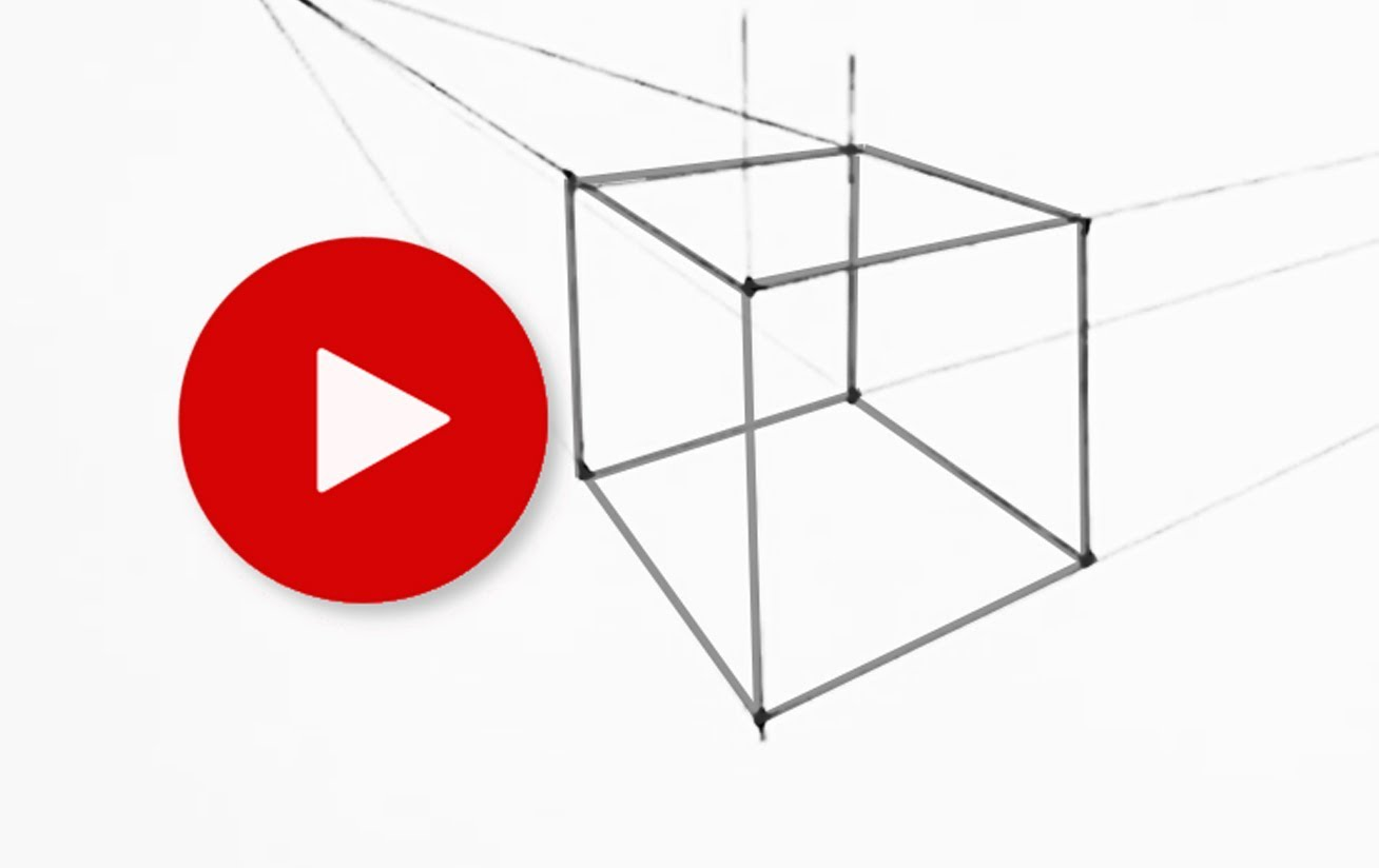 1308x824 How To Draw A Cube In Two Point Perspective