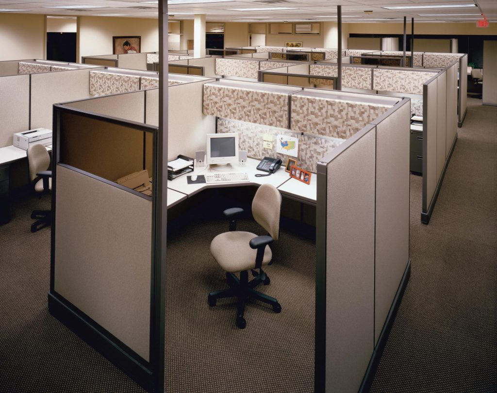 1024x810 Best 15 Office Cubicle Drawing