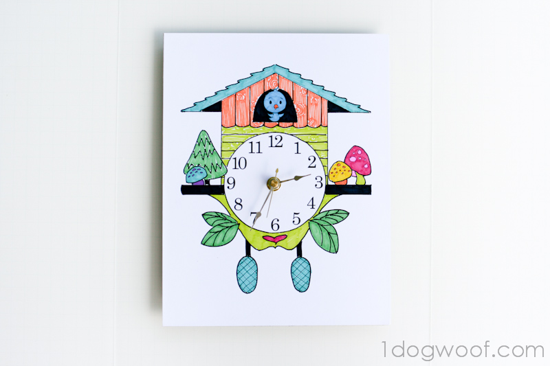 800x533 Color And Create Your Own Cuckoo Clock