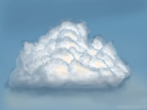 Cumulus Cloud Drawing At Getdrawings Free For Personal Use