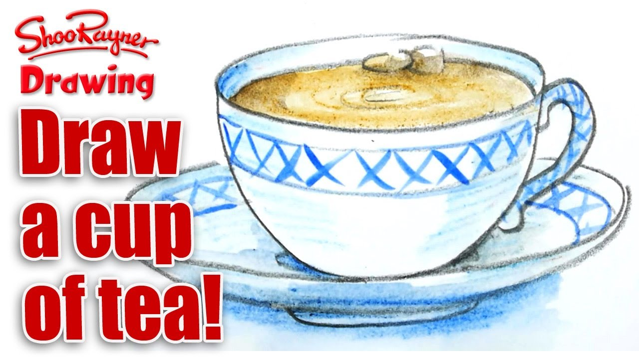 1280x720 How To Draw A Nice Cup Of English Tea