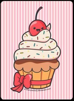 cupcake cartoon drawing at getdrawings com free for personal use rh getdrawings com how to draw a cartoon cupcake with a face how do you draw a cartoon cupcake