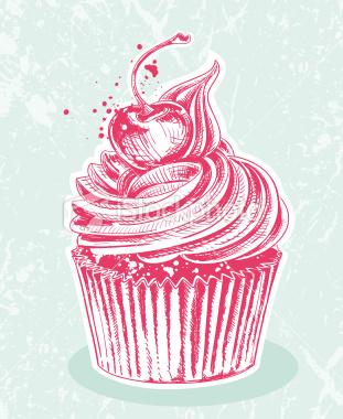 311x380 Cupcake Gallery Images Cupcake Drawing Painting Wallpaper
