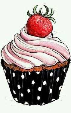 236x375 Pink Cupcake