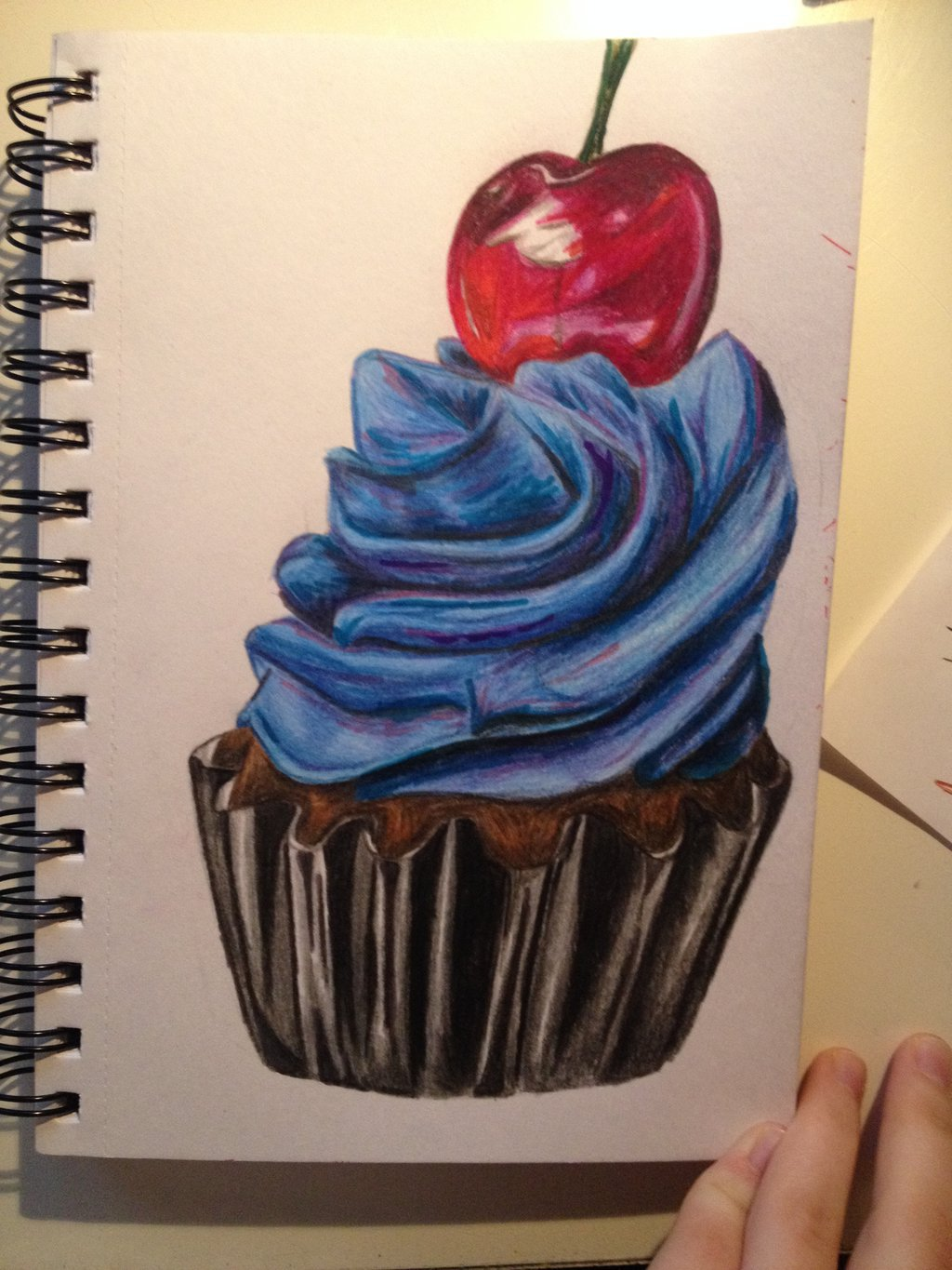 1024x1365 Coloured Pencil Drawing By Olive26194