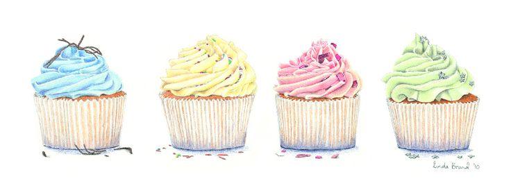 736x281 Cupcake Drawing Cover Fb