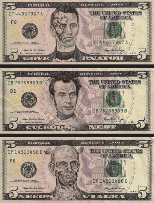 500x657 James Charles Has Taken Drawing On Money To A New Art Form. By
