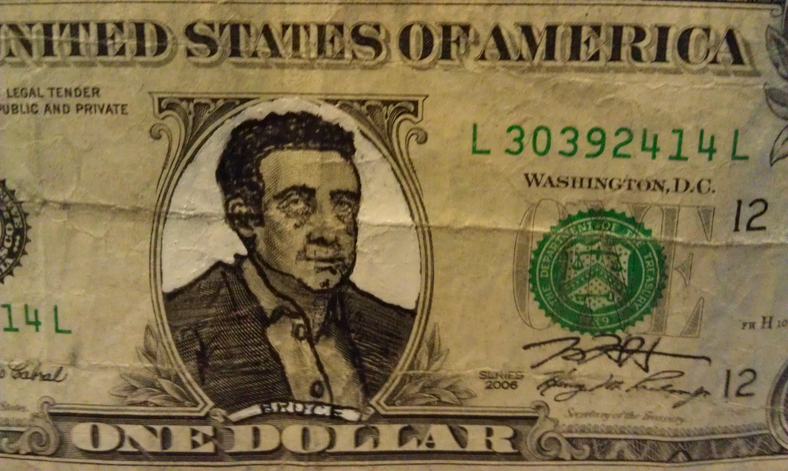 1600x957 The Art Of Jeremy Hara Drawing On Dollars Refacing Our Currency