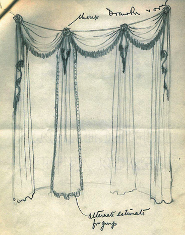 367x465 Curtain Drawing ~ Decorate The House With Beautiful Curtains