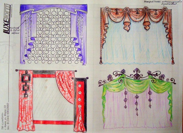 736x537 71 best How to draw curtains images on Pinterest Blinds, Sheet