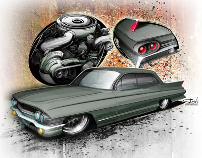 400x314 Cars Drawing Hot Rods Page 3