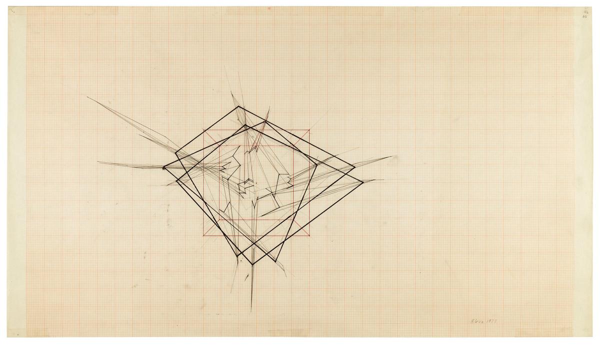 1200x690 Gordon Matta Clark Untitled (Cut Drawing) Art Blart