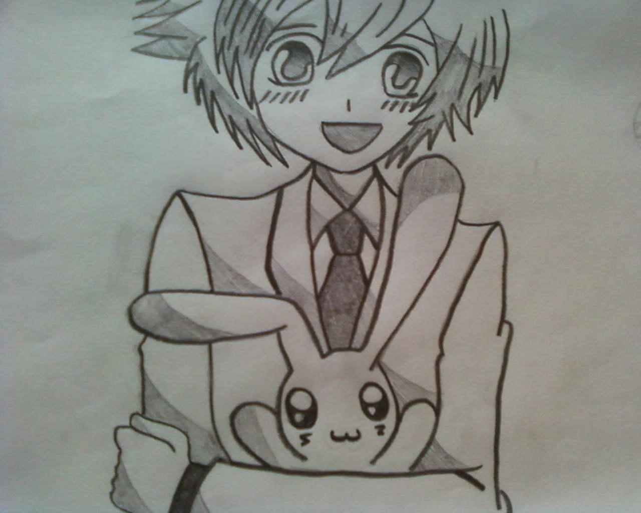 1280x1024 Cute Anime Drawing Cute Anime Drawing