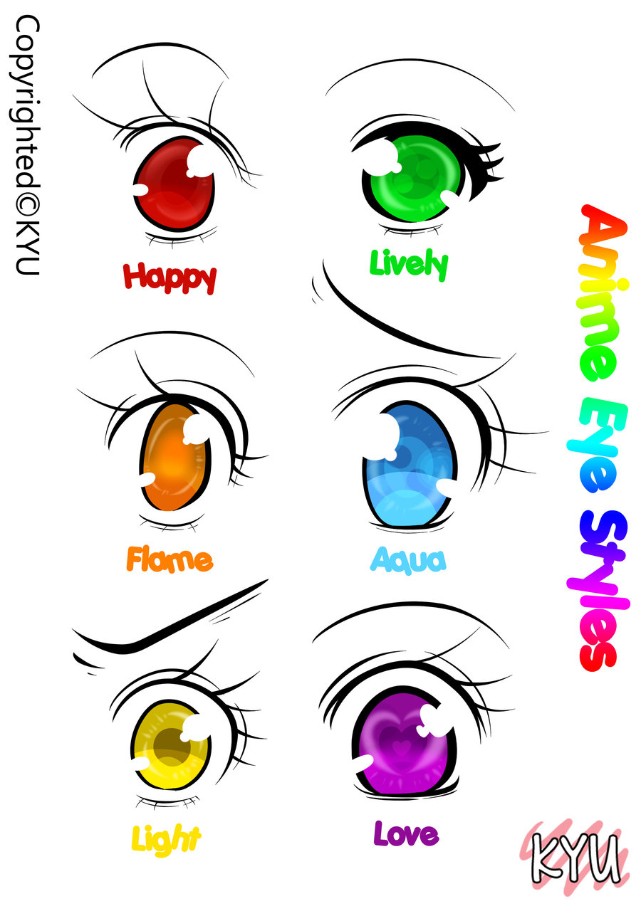 900x1273 Draw Cute Anime Eyes Anime Eye Styles [Fantasy Version