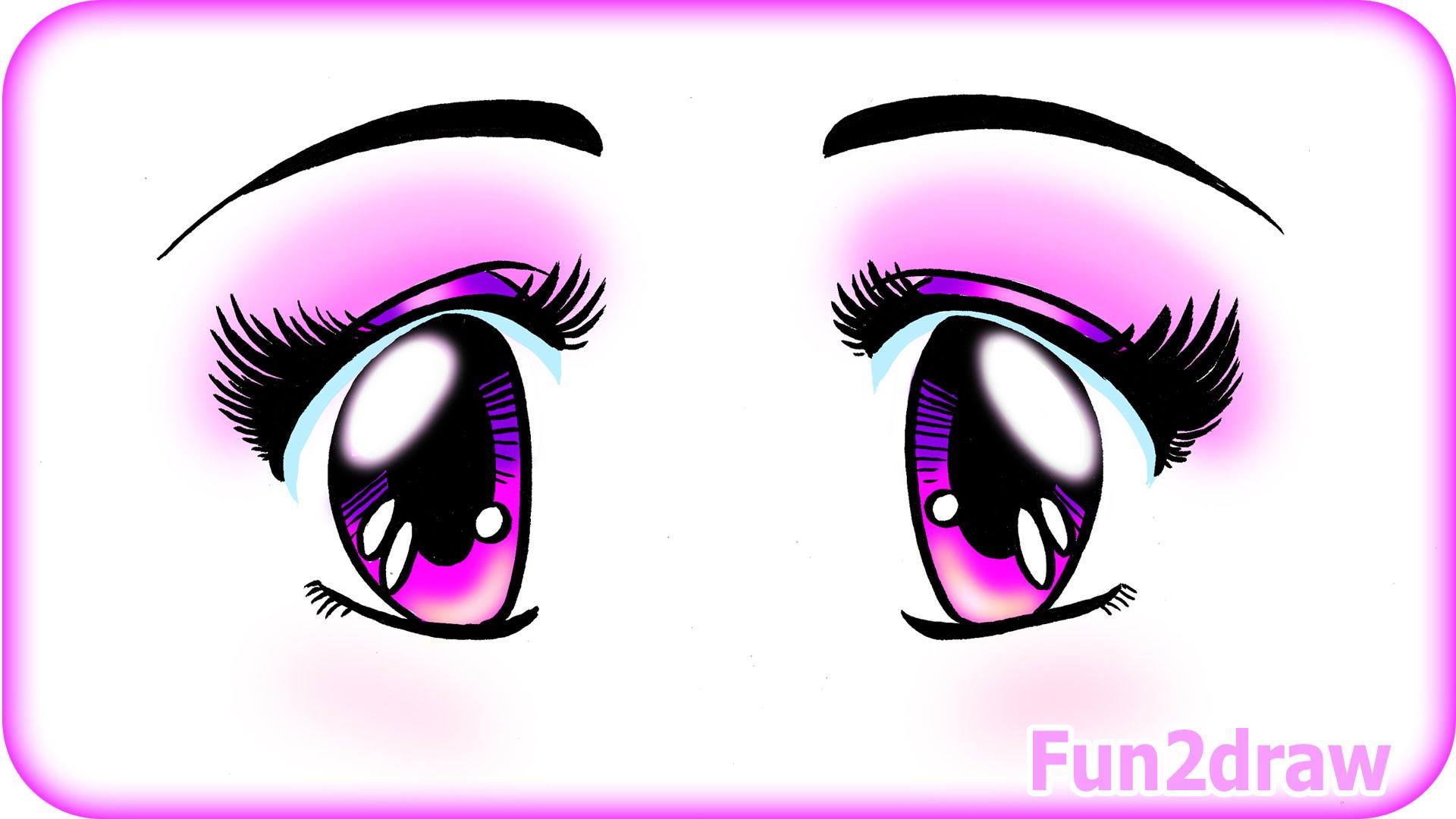 1920x1080 Draw Cute Anime Eyes Cute Easy Manga