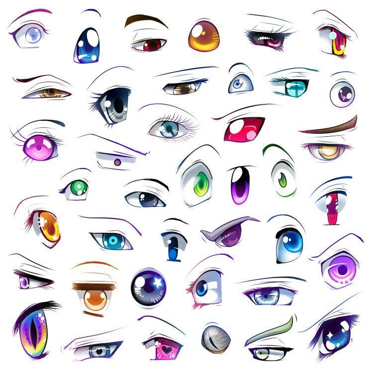 750x750 Tutorial]drawing Manga Eyes