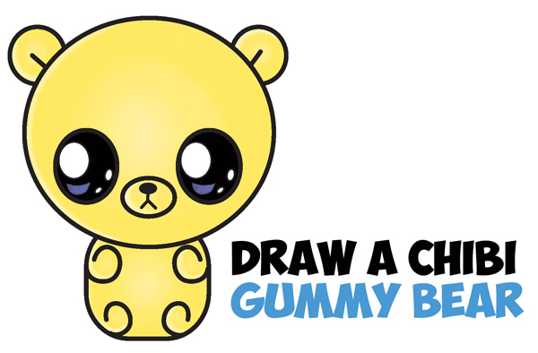 600x394 Gallery Cute Easy To Draw Animals,