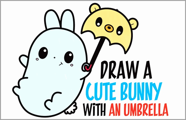 600x388 11 Fresh How to Draw A Cute Baby Bunny Step by Step
