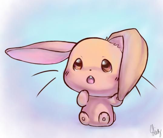 538x454 Baby Bunny by Blooberry95 C r e a t u r e s