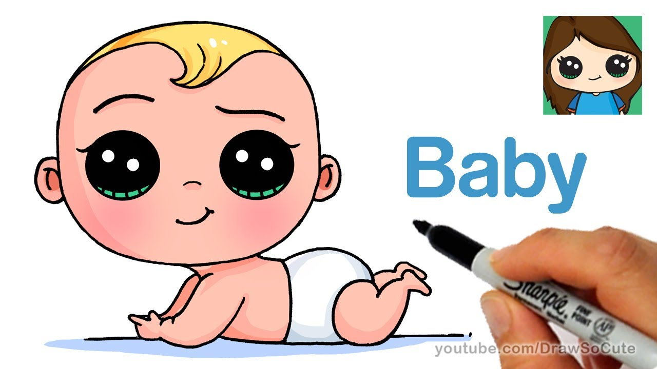 1280x720 How to Draw a Baby Easy The Boss Baby