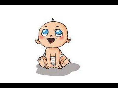 480x360 How To Draw A Newborn Baby