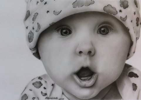 480x340 Cute Baby By Marie Huntrods
