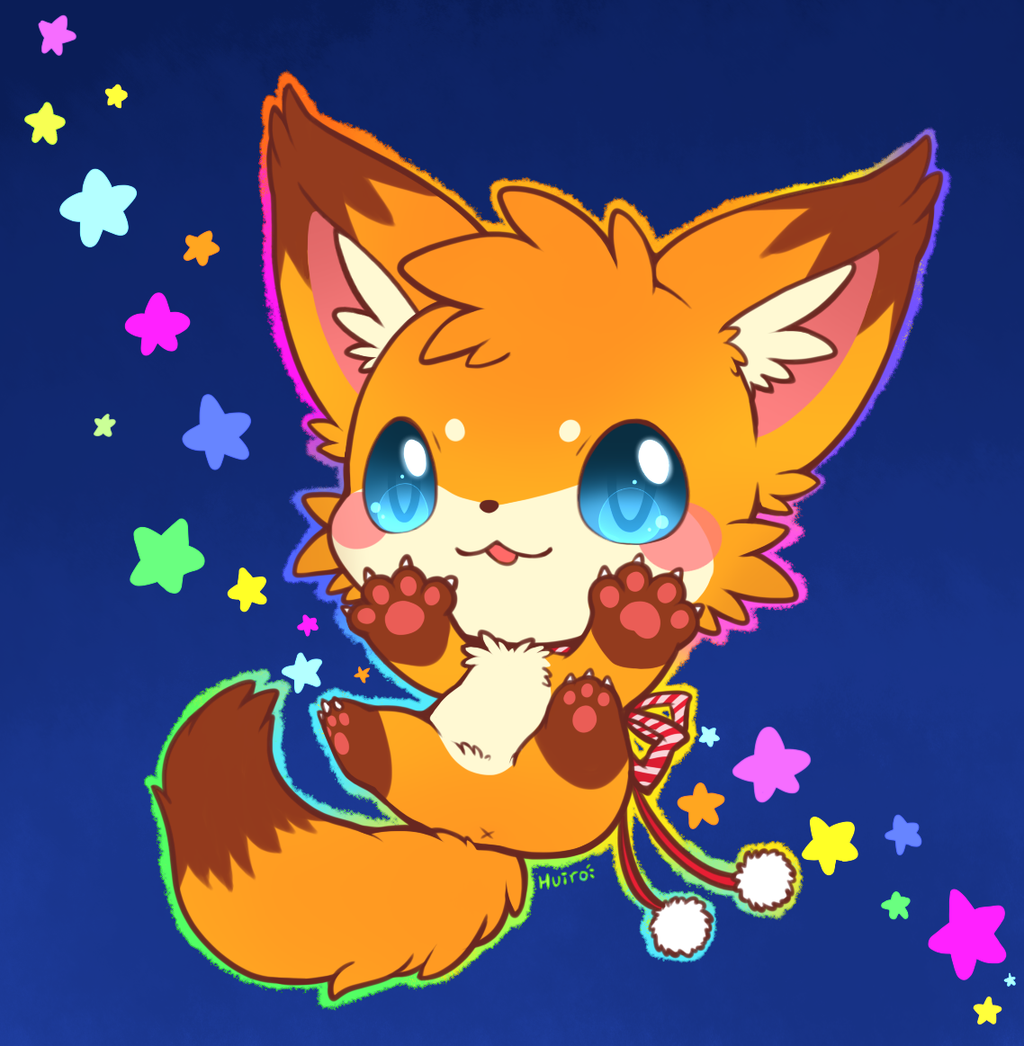 1024x1046 Baby Fox By Huiro