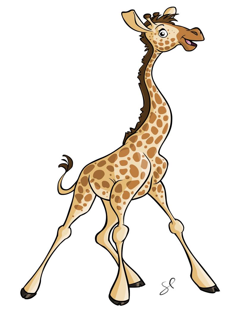 Cute Baby Giraffe Drawing at GetDrawings | Free download Cool Giraffe Drawing