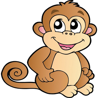320x320 free monkey clip art images Cute Baby Monkeys dey all axed for