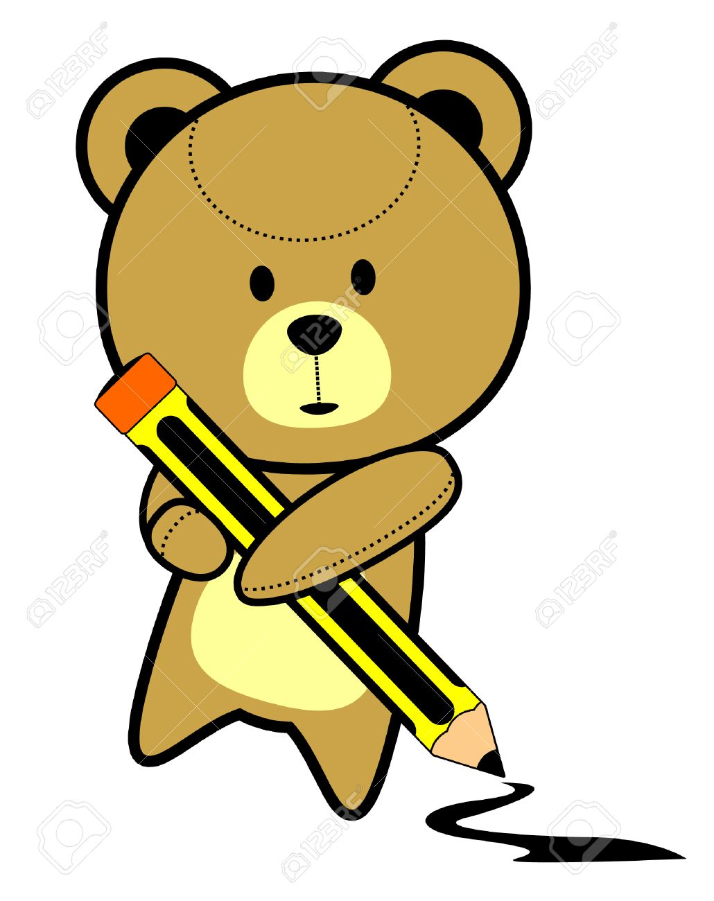 1030x1300 Cute Teddy Bear Drawing Royalty Free Cliparts, Vectors, And Stock