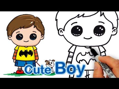 480x360 How Draw A Cute Boy Easy