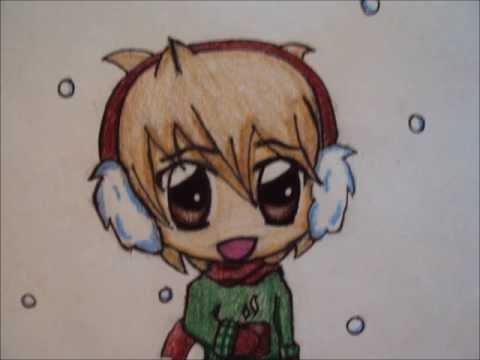 480x360 How To Draw A Winter Chibi Boy