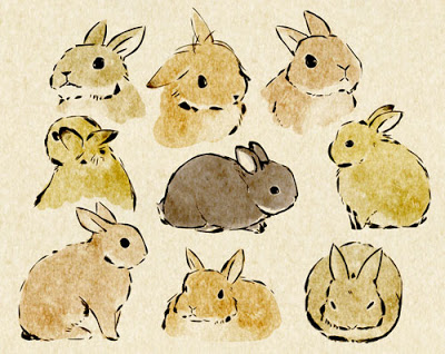 400x318 Bunnies Illustrations Draw, Rabbit And Bunny