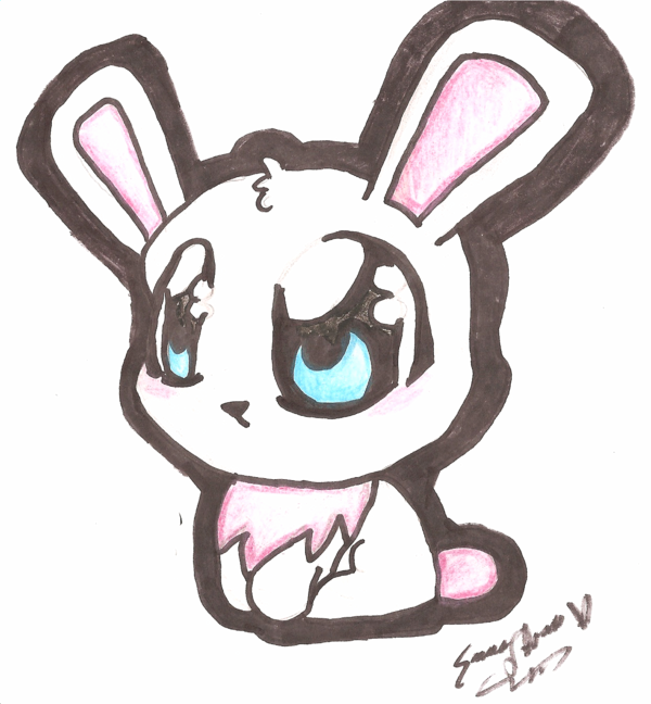 600x648 Bunny Rabbit By Ziggii