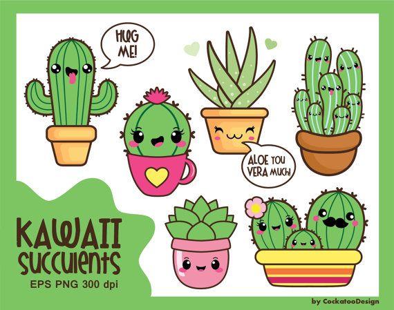570x449 Kawaii Clip Art, Valentine Clipart, Kawaii Cactus Clipart, Kawaii