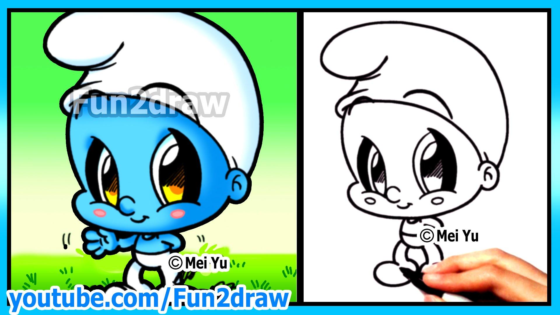 Cute Cartoon Characters Drawing At Getdrawings Free Download