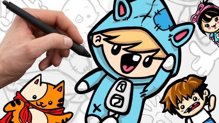 750x422 How To Draw Cute Cartoon Characters