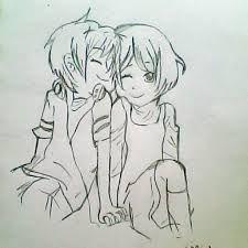 225x225 Resultado De Imagen De Cute Chibi Couple Hugging Drawing Animes