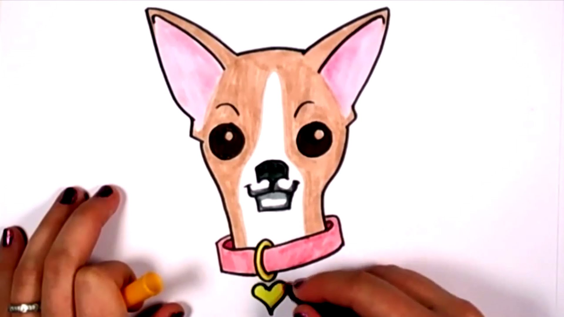 Cute Chihuahua Drawing at GetDrawings.com   Free for personal use ...
