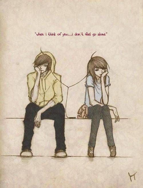 500x657 Cute Couple Drawings With Quotes Drawings Illustrations