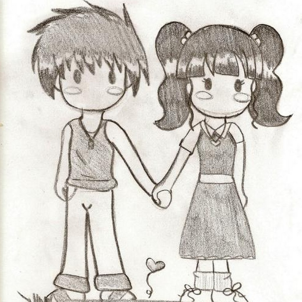 Cute Couple Drawing Tumblr at GetDrawings | Free download