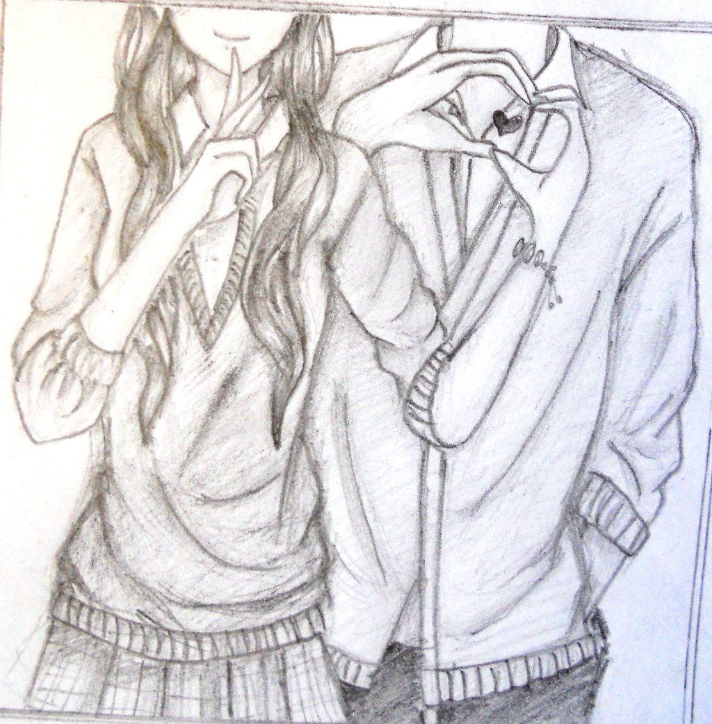 Image of: We Heart 1024x1041 Cute Couple Drawing Ideas Tumblr Drawn Kiss Cute Couple Cute Couple Drawing Tumblr At Getdrawingscom Free For Personal