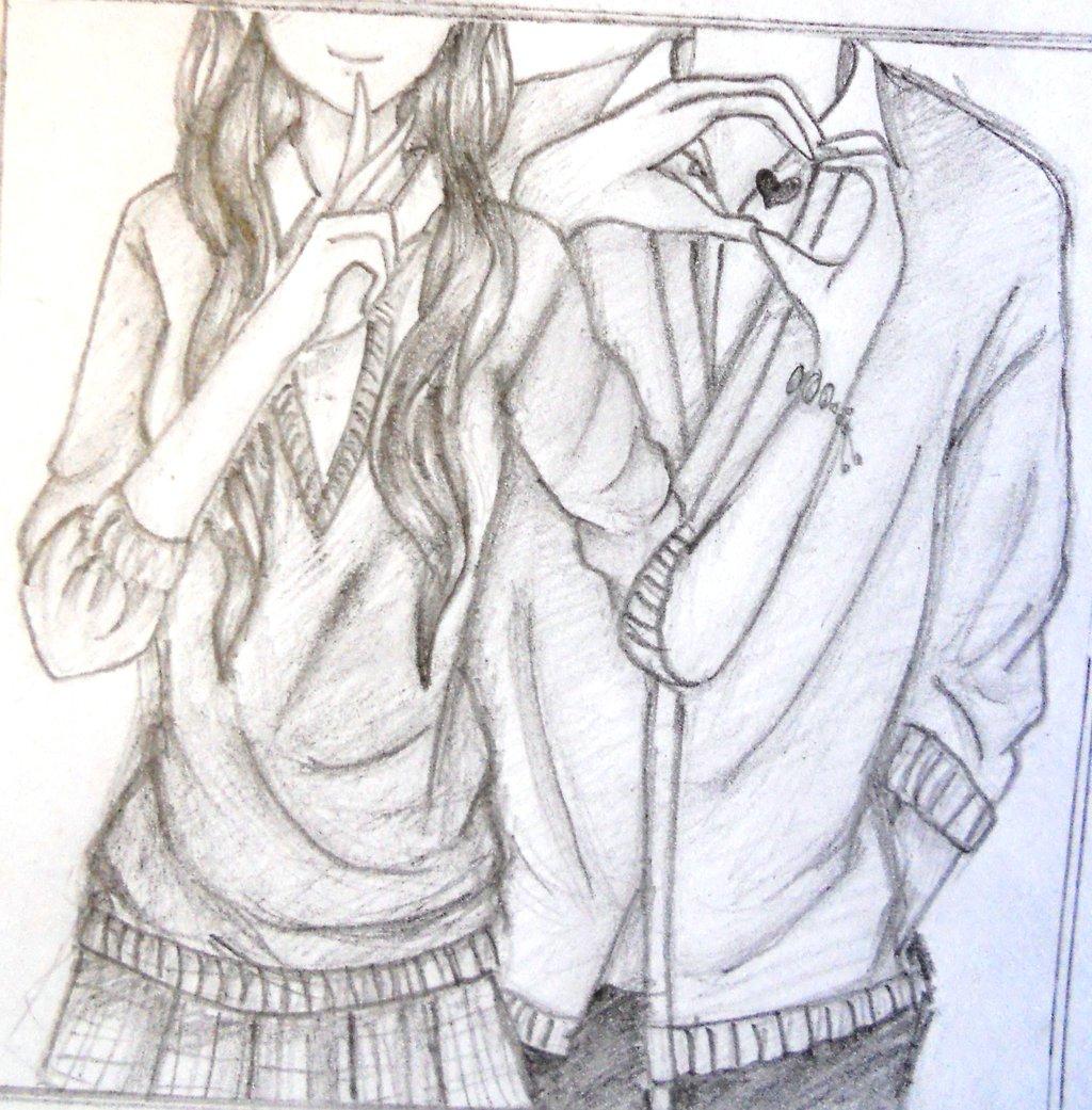 1024x1041 Cute Couple Pencil Drawing Cute Couple Drawings