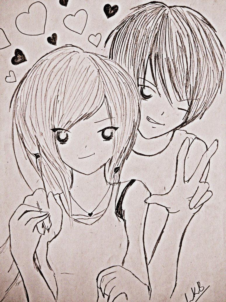 774x1032 Cute Couple Pencil Sketch Image Love Drawings, Pencil Drawings