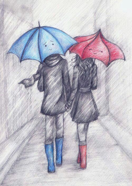 500x705 drawn couple cute