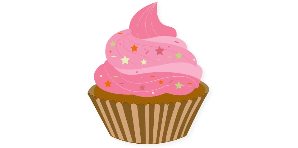 960x477 Cute Cup Cake Somoka's Design