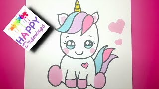 320x180 HOW TO DRAW A CUTE CUPCAKE UNICORN
