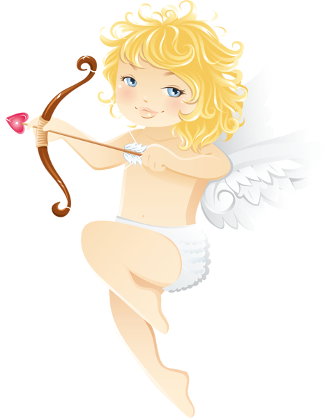 469x600 Cute Cupid Angel Free PNG Clipart Anjinhos Pinterest Cupid